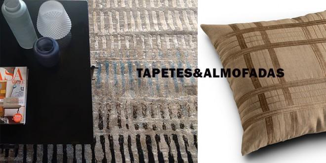 Em harmonia: tapetes&almofadas